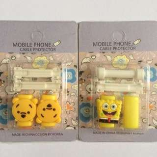 Cute Cable Protector pelindung kabel iphone