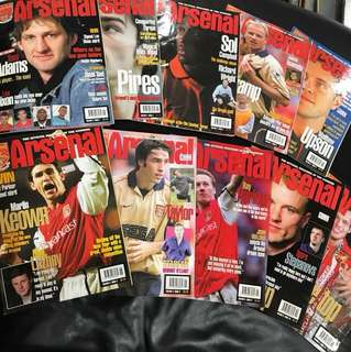 Arsenal Magazine 01/02 Season