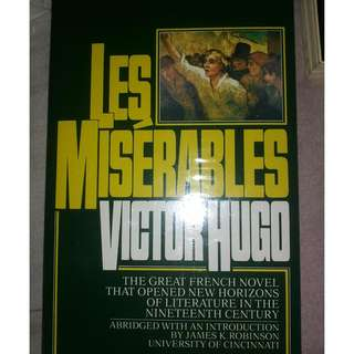 Les Miserables Book for Sale