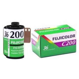 菲林 Fujicolor C200 - 35mm Film