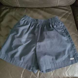 RSS boys PE shorts size 34