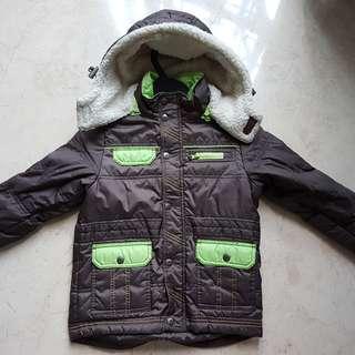 Winter Jacket Kid 7 - 9 yr old (Brown, $30 neg)