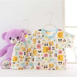 (PO) Disney Tsum Tsum Pajamas Newborn -6 Months