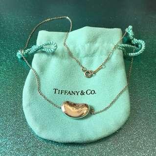 靚靚 Tiffany 經典純銀 925 大仙豆 頸鏈