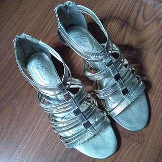 Deflex Gold Sandals