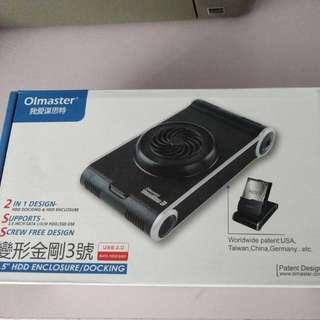 Olmaster 3.5 inch enclosure USB 3.0 + Seagate 1TB HDD