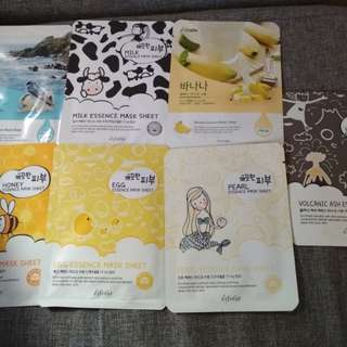 7 Esfolio Face Masks Made in Korea