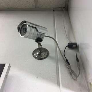 CCTV with DVR 6 CH