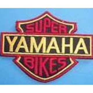 Yamaha Biker Badge