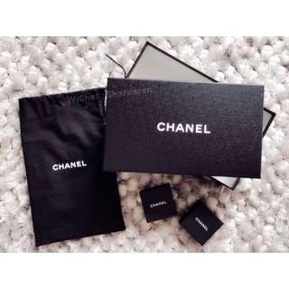 Chanel Shoes Box + Dustbag