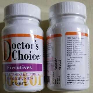 Doctor's Choice 醫之選「行政人員的維他命及礦物質」