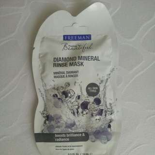 Diamond Mineral Rinse Mask