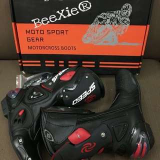 Speed Motorcycle Rider Boots