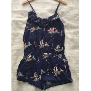 Peter Alexander Blue Playsuit