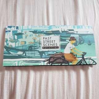 Past street scenes stamps