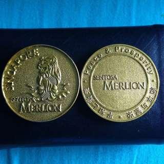 Merlion coin (souvenir)