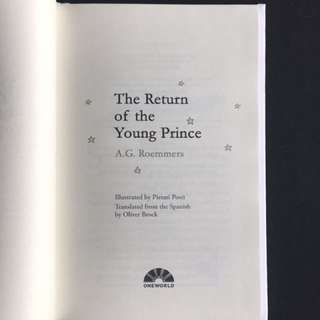 The Return of the Young Prince by A.G. Roemmers