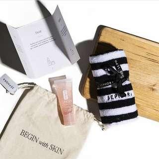 Sephora Starter Kit (Clinique Moisture Surge + Towel)