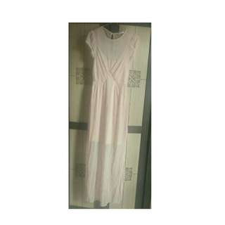 Long Dress Nude.. Still in good condition, just 2x used