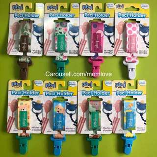 🌈(Ready Stock) 🆕Brand New Baby Pacifier Soothie Clip Holder Strap Leash Tether for Boys and Girls with Safe Plastic Clip