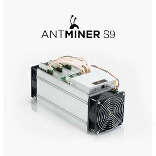S9 antminer 螞蟻礦機 13.5TH/s 1350w