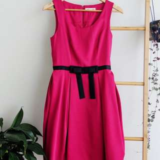 Alannah Hill Fuschia dress