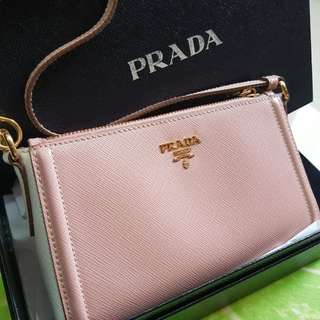 Preloved prada clutch