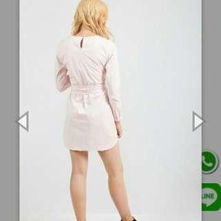 Dress pink veil