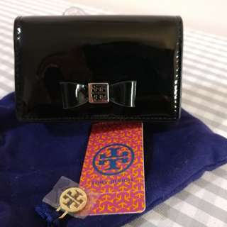Tory Burch Bow Foldable Card Case