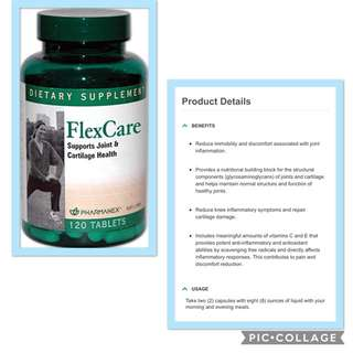 FLEXCARE supports joint & cartilage health