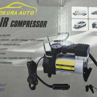 Portable metal air compressor