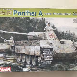 Dragon 1/35 panther A kit