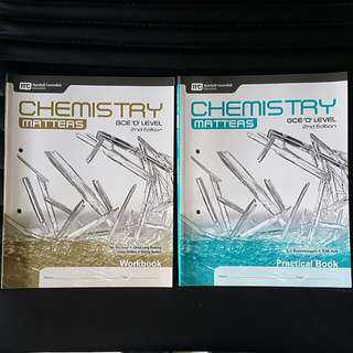 Chemistry Matters GCE O level assessment books