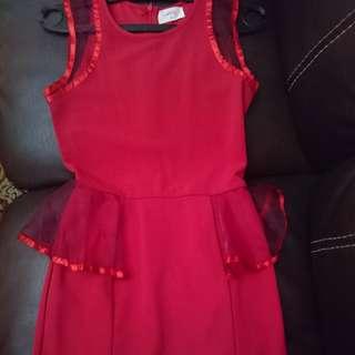Red Dress Gaudi