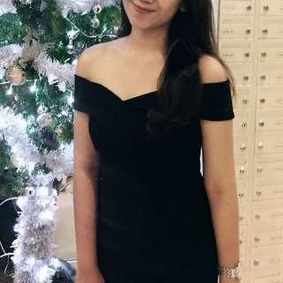 Nyla sabrina dress