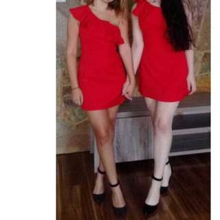 Red dress - size small