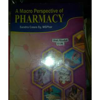 A Macro perspective of Pharmacy Book for Sale