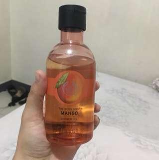 The body shop mango body wash