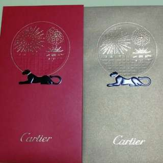 100% Authentic Cartier Red Packers