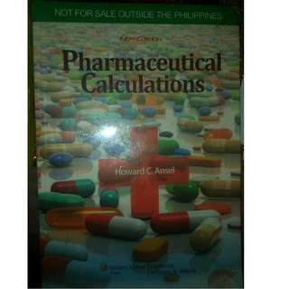 Pharmaceutical Calculations Book for Sale