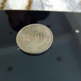 Old Coin 1967 /50cent