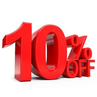 10% off all listings