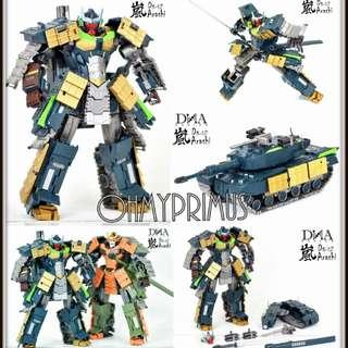 DNA Design DS-02 DS02 Arashi - Transformers Masterpiece MP Banzaitron