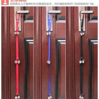 【樣品出清】寵物門鈴繩(有藍色/紅色 可選)$100