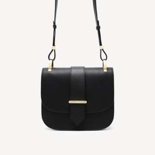 PEDRO DETAIL SHOULDER BLACK BAG ORIGINAL