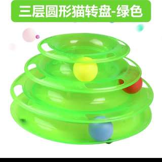 Cat feeding toy
