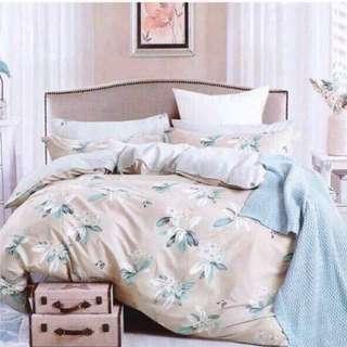 US COTTON 5 in 1 Comforter Set Bedsheets