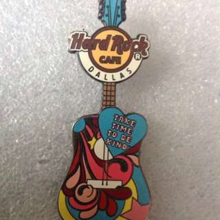 Hard Rock Cafe Pins - DALLAS HOT 2013 GROOVE MANTRA GUITAR SERIES!