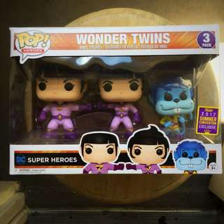 Funko 3-pack Zan & Jana with Gleek