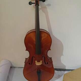 Brand New Mandeville Cello Size 3/4